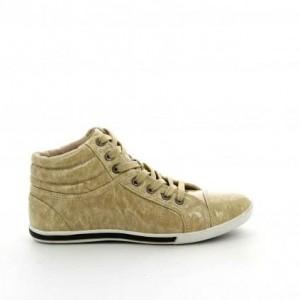 chaussure-femme-basket-montante-beige